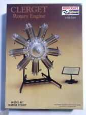 Hasegawa 1:8 Scale Clerget 9B Rorary Engine Assembly Kit 1200 Very Rare