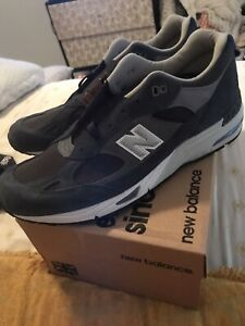 New Balance 991 Blue Athletic Shoes for