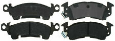 Disc Brake Pad Set-Semi Metallic Disc Brake Pad Front ACDelco Advantage 14D52M