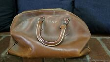 Zipp O Grip Doctors Travel Bag Brown Leather T.A.P. E11