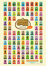 ANIMAL CROSSING AMIIBO SERIES 1 CARDS 1 to 100