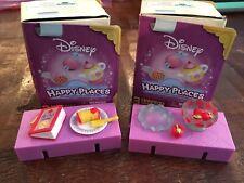 Disney Happy Places Belle Beauty Beast Mystery Surprise Lot Bowl Apples Plate