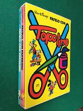 Walt DISNEY - FATELO CON PAPERINO E TOPOLINO 2 Volumi + Cofanetto rigido (1977)