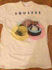 Original Vintage Squeeze Cosi Fan Tutti Frutti Tour 1985 Concert T-shirt L Sleve