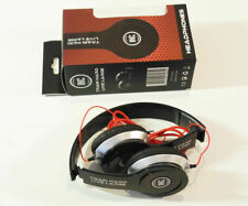 Folding headphones - silver and black - INC brand - new in box