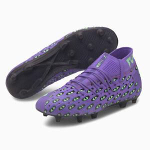 PUMA Future 6.1 Netfit FG AG Mens Purple Pro Level Football Boots 106285 01