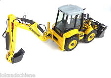 Retroexcavadora New Holland B 115 B NZG 1:50 Metal #817 /xx