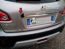 Modanatura Cover Maniglia acciaio cromo portabagagli Nissan Qashqai 07-13.