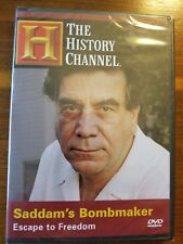 SADDAM'S BOMBMAKER (HISTORY CHANNEL) SADDAM HUSSEIN IRAQ NEW AND SEALED