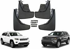 4pc Front & Rear Molded Mud Flaps For 2011-2017 Jeep Grand Cherokee New USA