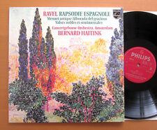 Philips 9500 347 Ravel Rapsodie Espagnole Haitink Concertgebouw 1977 NEAR MINT