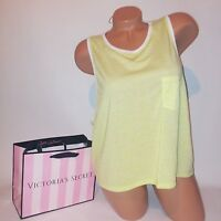 Victoria Secret Tank Top Muscle Tee Sleeveless Supermodel Essentials