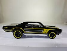 Hot Wheels '67 Pontiac GTO Black 2017 Muscle Mania LOOSE READ