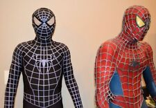 US seller Black Venom Spider-Man Muscle Zentai Halloween Cosplay Costume adult