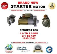 FOR PEUGEOT 806 1.9 TD 2.0 HDi 2.1 TD 12V 1995-2002 STARTER MOTOR 1.7kW 13Teeth