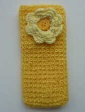 HANDMADE CROCHET IPHONE SOCK COVER FITS IPHONE 3, 4 & 5 AND SIMILAR SIZE PHONES