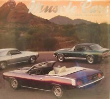 MUSCLE CARS 2013 CALENDAR 16 MONTH - GREAT FOR FRAMING