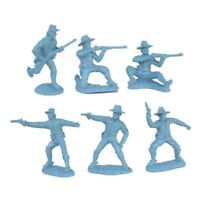 TSSD Civil War Union Cavalry 12 Plastic Toy Soldiers 1/32 BLUE FREE SHIP