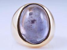 Herren Damen Ring Tansanit 750 Gold ca. 27,10 Gramm Einzelanfertigung um 1990