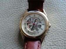 Ladies Constant Quartz Watch With Japanese Movement Skeleton effect Working Fine