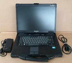 "15.4"" Panasonic Toughbook CF-52 Core i3 M330 2.13GHz 4 GB RAM 500 GB HDD Win10"