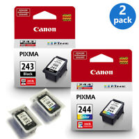 Genuine Canon PG-243 + CL-244 Ink Cartridges Bulk Packaging TS3122 MG2522 TS202