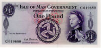 1970 Isle of Man £1 One Pound Banknote signed P.H.G. Stallard P25b UNC