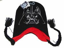 Star Wars Darth Vader Tassel Winter Hat Nwt One Size Boys