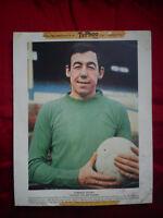 GORDON BANKS LEICESTER CITY FOOTBALL CLUB 1969 TYPHOO TEA CARD 10 x 8 LCFC OKC