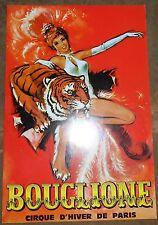 Programme du Cirque Bouglione 1970