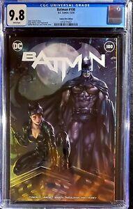 🔥🦇 Batman #100 CGC 9.8 💥 CE Parrillo Trade Variant 💥 Joker War 🦇 catwoman