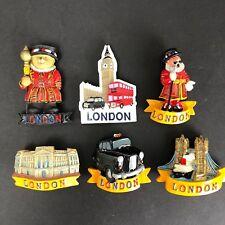 London Novelty 3D Travel London Fridge Magnet Souvenir Bridge Taxi Guard Clock