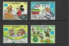 HICK GIRL- MINT DOMINICA STAMPS    DISNEY  MICKEY & STAMPS         T198