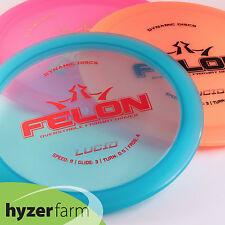 Dynamic Discs Lucid Felon *choose your weight and color* Hyzer Farm disc golf