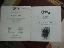 Programme Théatre National de l'Opéra 23 mai 1973 VERDI IL TROVATORE