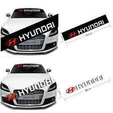 Car Front Rear Windshield Banner Decal for HYUNDAI Vinyl Auto Reflective Sticker