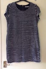 Ladies Blue & White Short dress size 18. Eu 46.