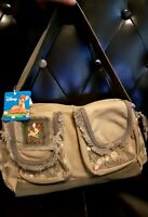 Disney Bambi Shoulder Bag Canvas Green Purse NWT Birthday Gift