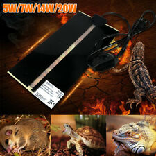 AU Pet Electric Adjustable Heat Pad Reptile Lizard Heating Mat Warmer Blanket