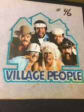 Vintage Iron On T-Shirt Transfers Village People