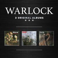 WARLOCK - 3 ORIGINAL ALBUMS  3 CD NEU