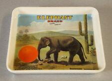 Mebel Tablett Untersetzer Utensilo Schale Elephant Melamin 12 x 14 cm 60er Jahre