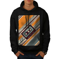 Wellcoda Music Cassette Tape Mens Sweatshirt 90/'s Casual Pullover Jumper