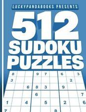 512 SUDOKU Puzzles Easy, Medium, Hard and Extreme Sudoku Puzzle Book