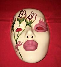 Mardi gras mask Wall Decor Hand Painted