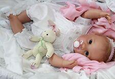 BABY BUNNY HUGS! - Newborn 20 Inch Collectors Life Like Pacifier Baby Girl Doll