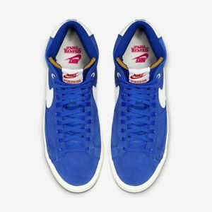 NIKE STRANGER THINGS Blazer Mid QS ST - Mens Size 11 - Sneakers Shoes CK1906 400