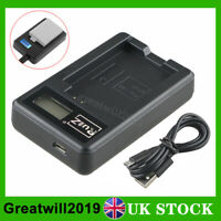 Camera Battery Charger for Canon LP-E5 EOS 450D 500D 1000D Digital Rebel XS T1i
