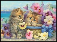 Friends Forever - Chart Counted Cross Stitch Patterns Needlework DIY DMC Color