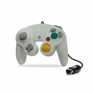 Cirka Wired Game Controller for Nintendo GameCube Wii (White)